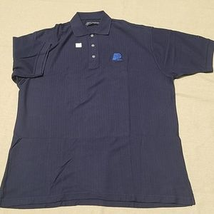 NWOT Pacers Reebok Golf navy polo shirt sz XL